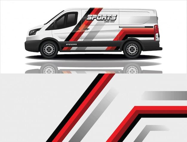 Van auto aufkleber wrap design