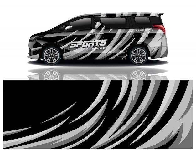 Van sport aufkleber wrap
