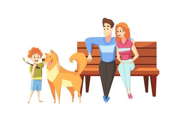 Vaterschaft, mutterschaft, kindheit, ruhekonzept