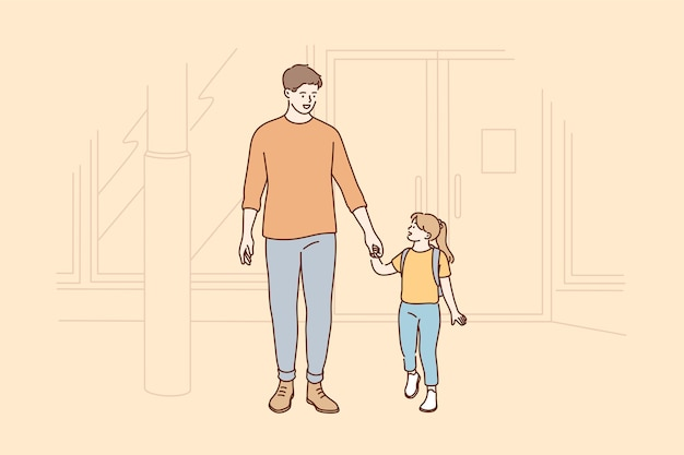 Vaterschaftskinderbetreuung lieben familienbildungskonzept.