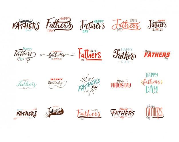 Vatertag abzeichen design