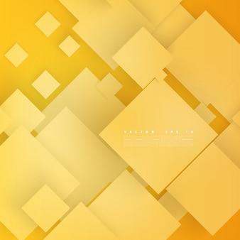 Vector abstrakte geometrische form aus grauen würfeln.