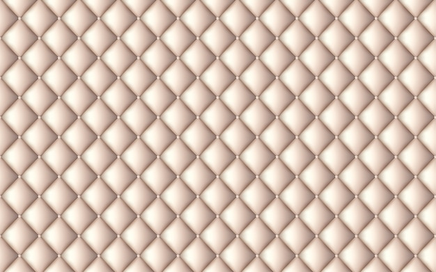 Vector abstrakte polsterung oder beige ledernen beschaffenheitssofahintergrund