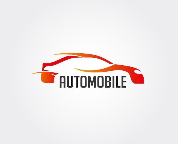 Vector car wash logo, auto autofahrer / rennwagen / automobildesign - vector