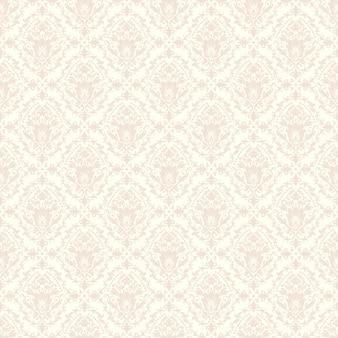 Vector damast nahtlose muster hintergrund. klassische luxus altmodische damast ornament, royal victorian nahtlose textur für tapeten, textil, verpackung. exquisite blumen-barock-vorlage.
