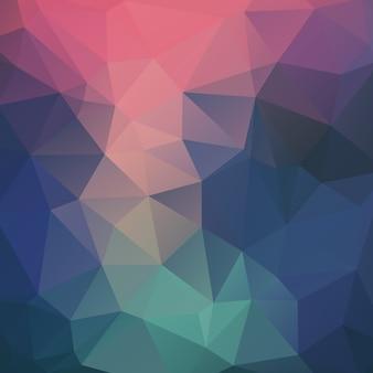 Vector dreieck mosaik hintergrund