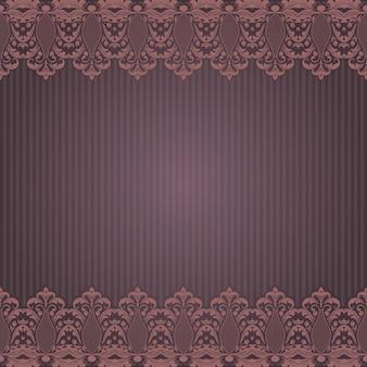 Vector feine floralen quadratischen rahmen. dekoratives element für einladungen und karten. randelement