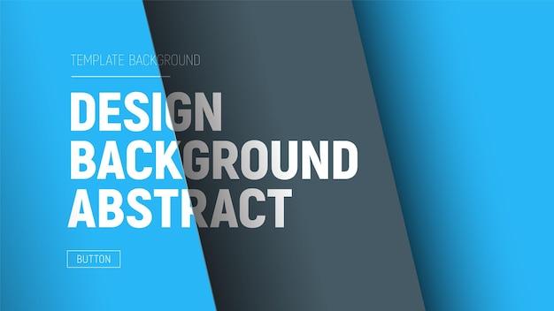 Vector site cheder mit blauen und schwarzen ebenen und text auf verschiedenen ebenen