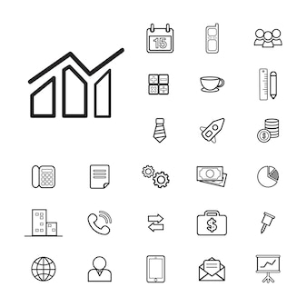 Vector UI-Illustration Businessl-Finanzkonzept