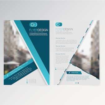 Vector vorlage flyer design