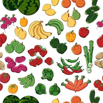 Vegetarisches muster