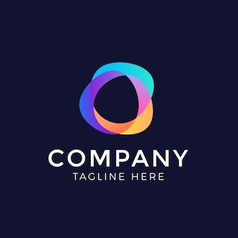 Vektor abstrakte farbe logo design-elemente
