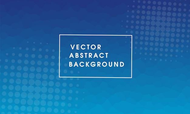 Vektor abstrakte halbton-design