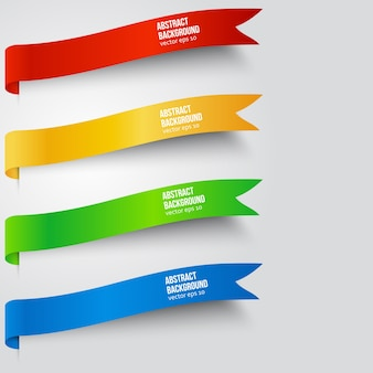 Vektor abstrakten hintergrund. etikettenfarbe