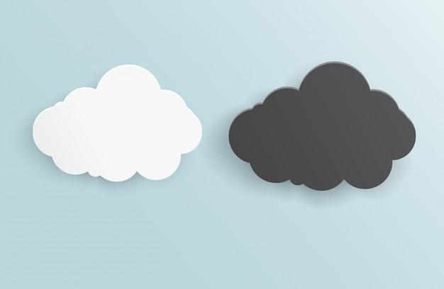 Vektor abstrakten hintergrund gewitter wolke.