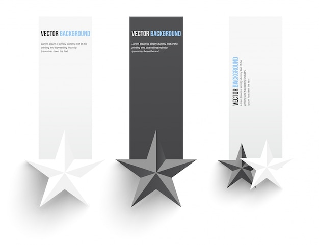 Vektor abstrakten hintergrund. infografische banner