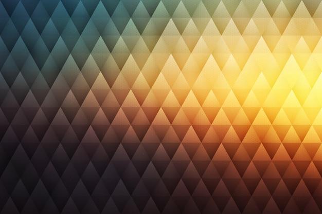 Vektor-abstrakter geometrischer hippie-hintergrund