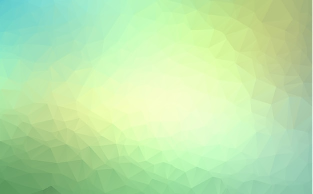 Vektor abstrakter unregelmäßiger polygonhintergrund