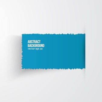 Vektor aquarell kreis. vintage papier textur.
