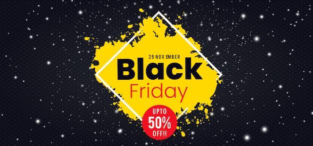 Vektor black friday banner