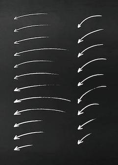 Vektor-bleistift-design-elemente