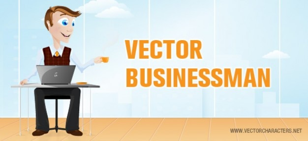 Vektor-business-mann