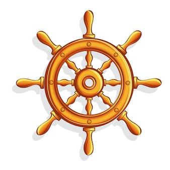 Vektor cartoon marine helm