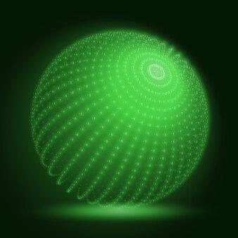 Vektor-cyber-kugel