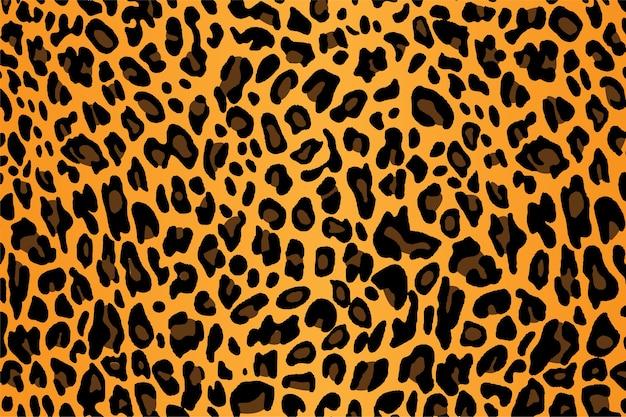 Vektor der leopard-haut