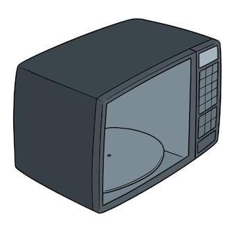 Vektor der mikrowelle