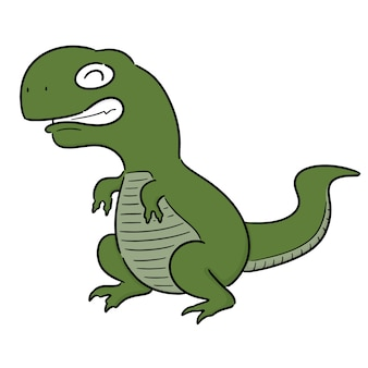 Vektor des dinosauriers