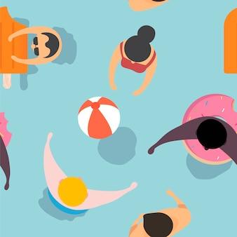Vektor des sommergefühldesigns