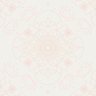 Vektor-diwali-indischer mandala-hintergrund