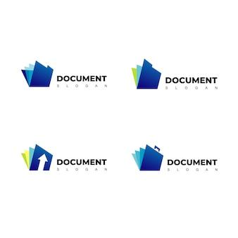 Vektor dokument logo