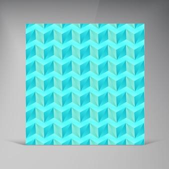 Vektor-dreieck zusammenfassung hintergrund karte schatten