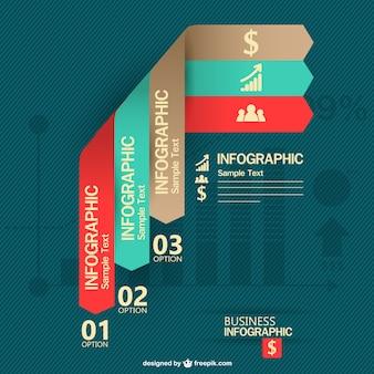 Vektor-etiketten infografik-design