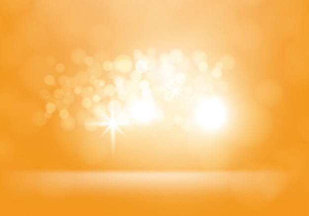 Vektor gelber abstrakter hintergrund mit blitzen
