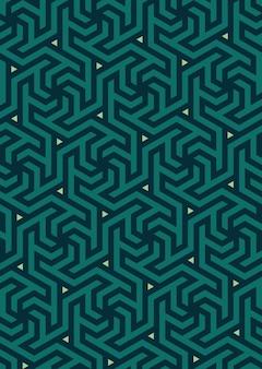 Vektor geometrisches muster