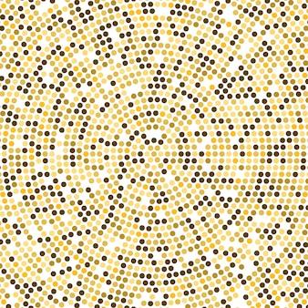 Vektor-gold-disco beleuchtet hintergrund