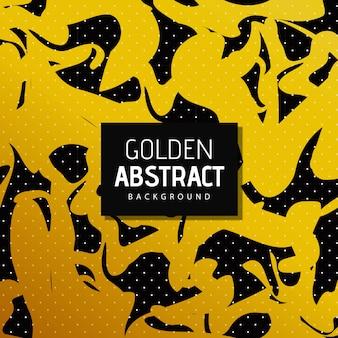 Vektor goldener abstrakter hintergrund