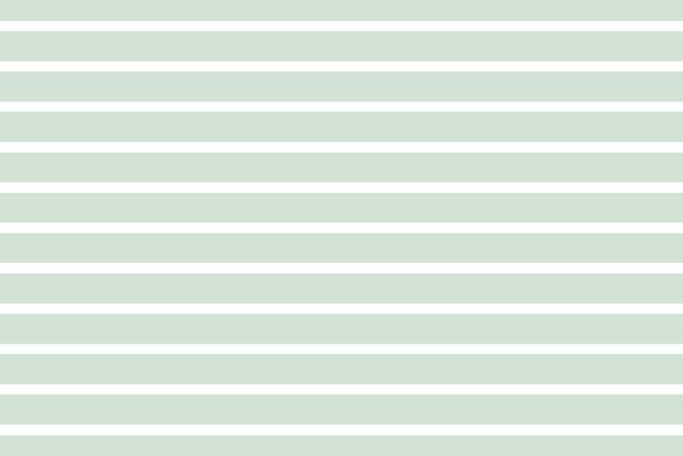 Vektor grüner pastellstreifen einfarbiger musterhintergrund