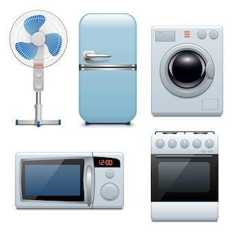 Vektor-haushaltsgeräte-icons