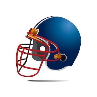 Vektor helm rugby