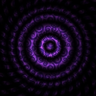 Vektor-illustration des schönen abstrakten hypnotischen hintergrundes. eps10