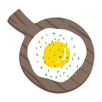 Vektor-illustration von frühstücksnahrung.