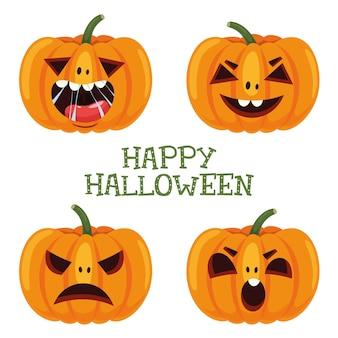 Vektor-illustration von halloween