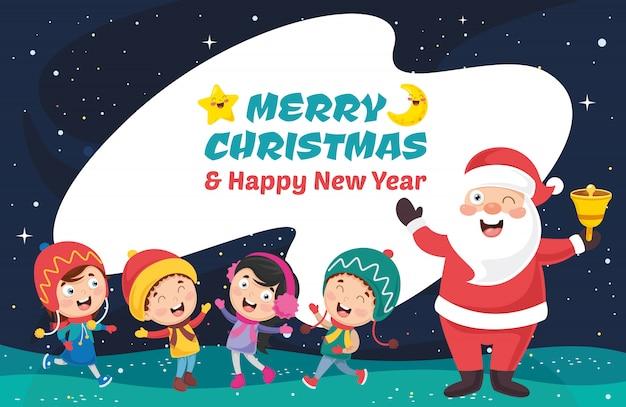 Vektor-illustration von weihnachten