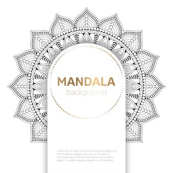 Vektor indische mandala
