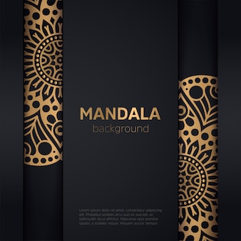 Vektor-indische mandala