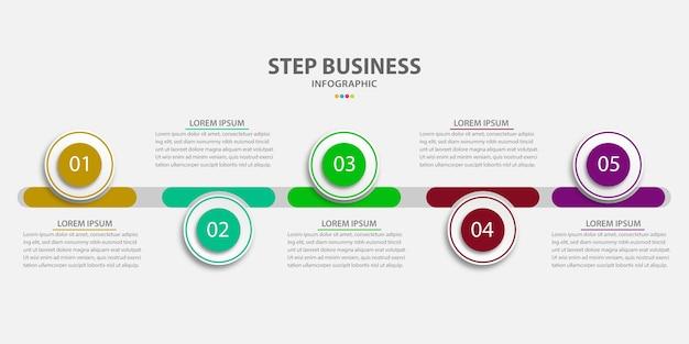 Vektor-infografik-design-präsentation